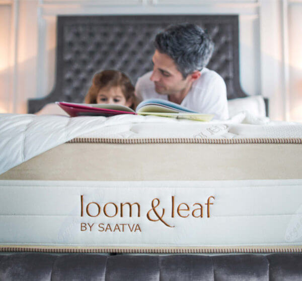 kids loom and leaf mattress